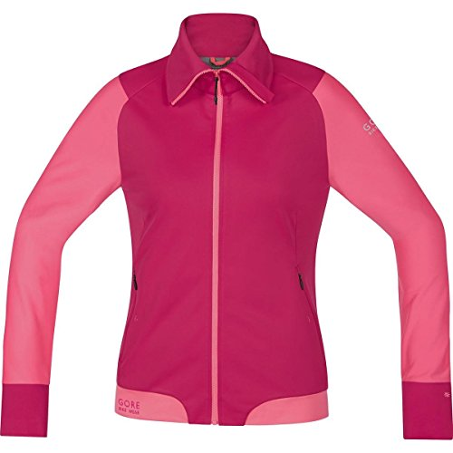 GORE BIKE WEAR Damen Warme Soft Shell Mountainbike-Jacke, Stretch, GORE WINDSTOPPER, POWER-TRAIL LADY WS SO Jacket