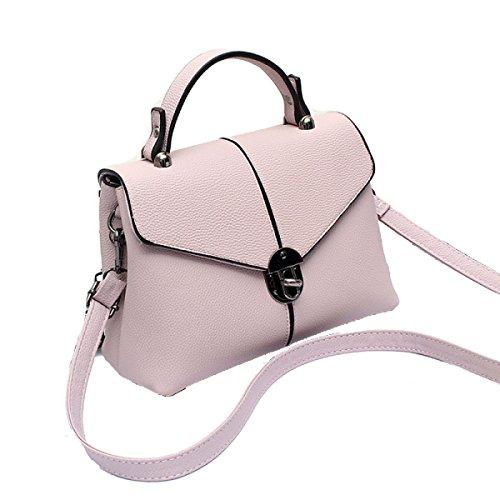 2pcs Modo Delle Signore Di Grande Capienza Messenger Bag Multi-color Beige
