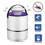 LayOPO Bug Zapper, Anti-Moustique électrique USB Charge LED, Lampe Anti-Moustique Photocatalytique pour Piège à Moustiques, Sécurité pour Enfants, Non Toxique, Aucun Rayonnement