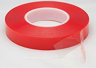 Teflon 18 mm Strong Acrylic Transparent Heat Resistant Double-sided Adhesive Tape 25 mts Length For Multipurpose Usage