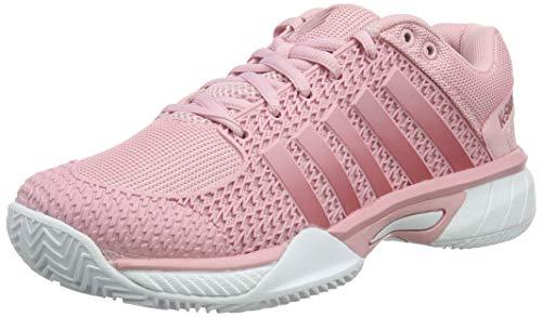 best service 29512 de847 K-Swiss Performance Women's Express Light Hb Tennis Shoes, Pink (Coral  Blush/White 653M), 6 UK
