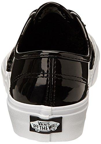 Vans U Authentic, Baskets mode mixte adulte Noir (Ptntlthr Black)