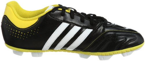 adidas Performance 11Questra TRX HG J Q23867 Jungen Fußballschuhe Schwarz (BLACK 1 / RUNNING WHITE FTW / VIVID YELLOW S13)