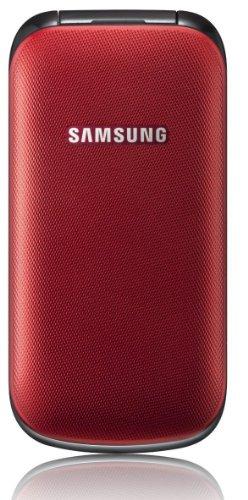 Samsung E1190 Mobiltelefon (GSM-Dualband, Display 3.63 cm(1.4 Zoll)) rot