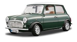 Bburago - Mini Cooper (1969), escala 1:18, color verde