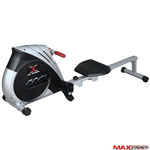 MAXSTRENGTH ® Magnetic Folding Rowing Machine Home Gym Rower Fitness Cardio