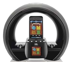 JBL JBLONAIRWBLKAM On Air Wireless iPhone/iPod AirPlay Speaker Dock with FM Internet Radio & Dual Alarm Clock- Black