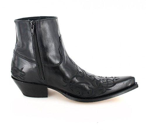 Sendra Boots 7216, Stivali western unisex adulto Nero (Negro)