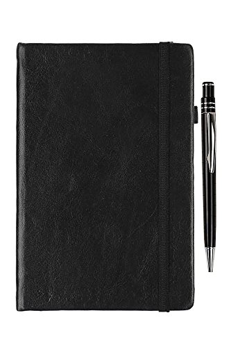 Cutlee Hardcover ruled Notebook 200 pages with Pen