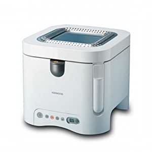 Kenwood DF560 Electronic Total Clean Friteuse blanc