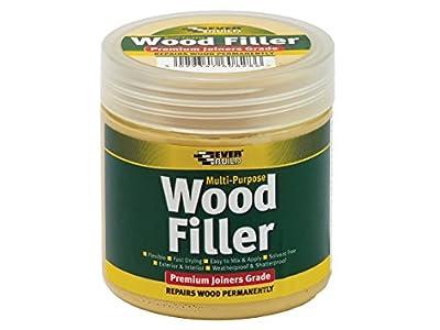 Everbuild MPWOODLTOAK2 250 ml Multi-Purpose Wood Filler Light Oak - inexpensive UK light shop.