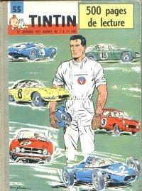 55 Tintin Recueil du journal de Tintin . Du fascicule d'occasion  Livré partout en Belgique