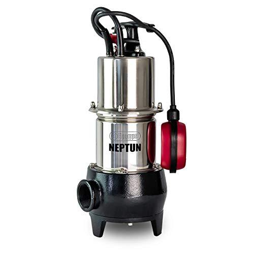 Elpumps Schmutzwasserpumpe NEPTUN; 800W, max. 15000 l/h Fördermenge, bis 9 m Tiefe