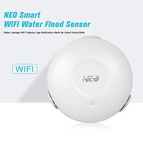 Festnight Neo Smart WiFi Sensor inundación Agua Fuga