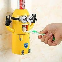 Moi, moche et méchant avec deux yeux - Distributeur automatique de dentifrice avec tasse de lavage