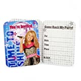 Hannah Montana Rock the Stage Invitations w/ Envelopes (8ct)