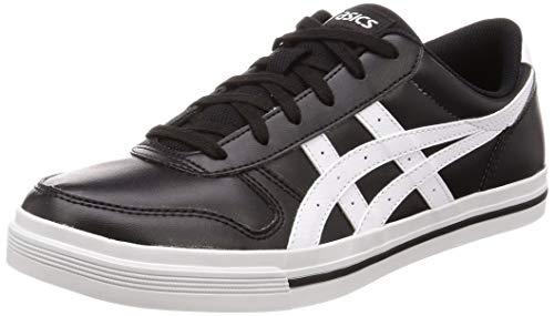 ASICS Aaron, Chaussures de Gymnastique Homme, Noir (Black/White 002), 46 EU