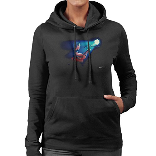 Ian Dickson Official Photography - Roger Waters Pink Floyd Wembley Empire 1977 Women's Hooded Sweatshirt Empire Womens Sweatshirt