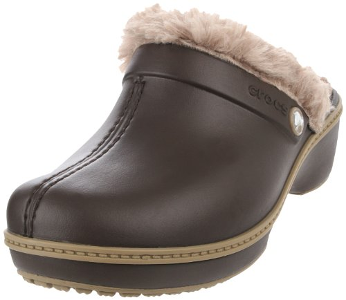 Crocs - - Enthousiaste fille Clog Christy femmes chaussures Espresso-Khaki