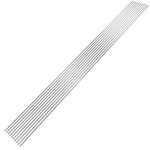 szdc88 Schweißstäbe - 10 Stück antiseptische Aluminium-Lichtbogenschweißelektroden für niedrige Temperaturen Stab für LKW-Ladefläche, Bewässerungsrohr, Motorblock, Docks, Diamantplatte
