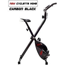 Allenamento aerobico bicicleta estática Fitness Cardio Workout máquina Casa bicicleta, bicicleta de fitness plegable con