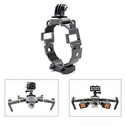 siyangmy Soporte fijo multifuncional para DJI MAVIC Pro Camera y LED LIGHT Accesorios para soporte fijo