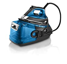 Rowenta Silence Steam Pro 2800W 1.3L Microsteam 400 soleplate Nero, Blu