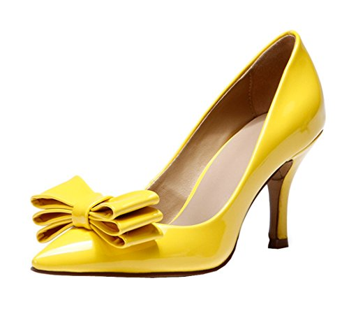 TDA - Sandali con Zeppa donna Yellow