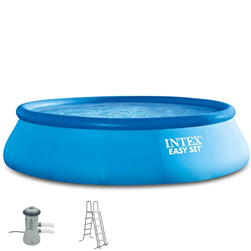 Intex 488x107 cm Easy Pool 289024 incl. Filteranlage, Sicherheitsleiter | Garten > Swimmingpools | Intex
