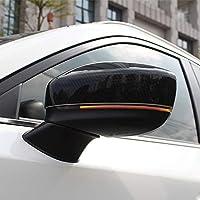 Fundas para Espejo de Puerta de Fibra de Carbono ABS, Accesorio Exterior para Mazda CX