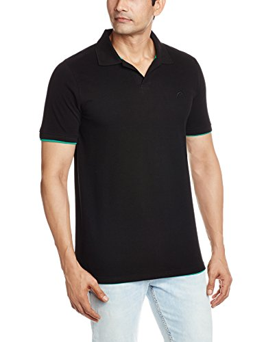 Proline Men's Polo (8907007243442_PC10002_X-Large_Black)  available at amazon for Rs.350