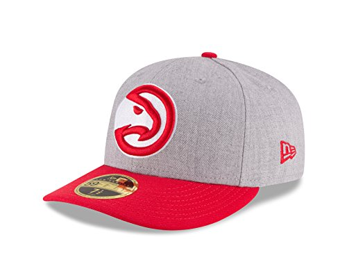 New Era 59Fifty Low Profile Cap - NBA Atlanta Hawks - 7 3/4 Hawk-baseball-cap