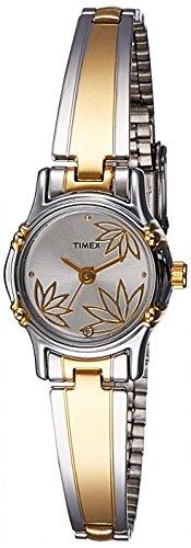 41ggV0PEL4L - Timex TW000B815 Classics Silver Women watch