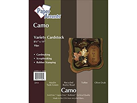 Accent Design Paper Accents ADP8511.1080 Variety Pack 8.5x11