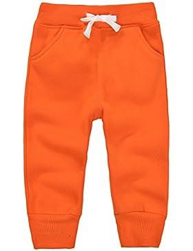 Casa Unisex Bambino Pantaloni Lunghi in Cotone , Pantaloni Sportivi da Bambini con Cintura Elastica Pantaloni...