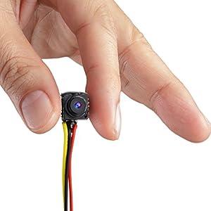 GEREE videocamera 800TVL NTSC/PAL Mini CCTV Monitor Video Audio telecamera nascosta spia forno a fori per monitoraggio di sicurezza