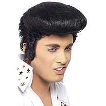 Smiffys 42101 - Peluca de Elvis