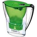BWT 815072 Tischwasserfilter Penguin, 2,7 L, mit einer Kartusche Magnesium Mineralizer für 120 L gefiltertes Leitungswasser, grün