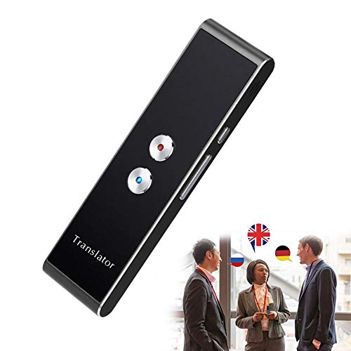 Vuffuw Handheld Portable Real-Time Instant 2-Way Voice Language Translation Machine Support 39 Language Freely Translation Smart Language Translator Device
