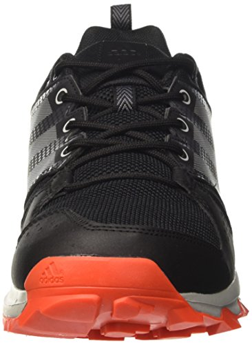 adidas Galaxy Trail, Chaussures de Running Compétition Homme Noir (Core Black/grey Two/energy)