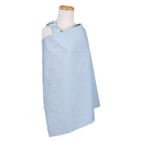 Trend Lab Sky Dot Nursing Cover, Blue by Trend Lab