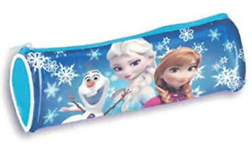 Frozen–Estuche escolar azul