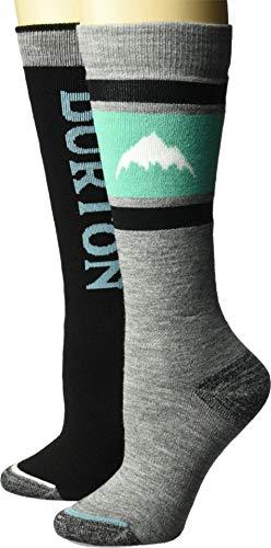 Burton Weekend Midweight Sock Two-pack - Burton Socken Schwarz