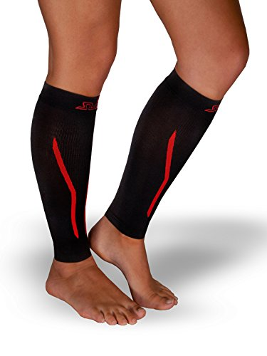 sub-dual-unisex-seamless-calf-sleeves-guards-black-red-s-m