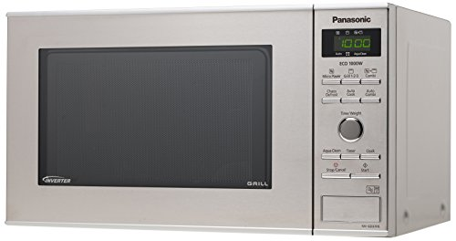 Panasonic NN-GD37HSGTG Mikrowellen-Grill (1000 Watt, 23 Liter) edelstahl-schwarz