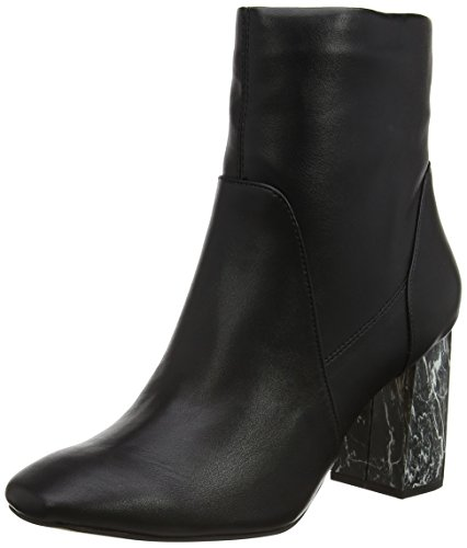 Dorothy Perkins Damen Amanda Metal Heel Chelsea Boots Schwarz (Schwarz)