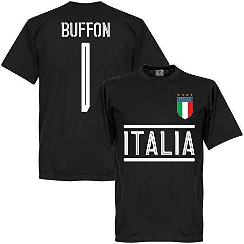 Italien Buffon Team T-shirt - schwarz - XXXL