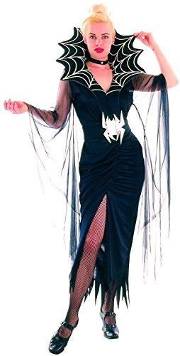 Generique - Spinnenfrau-Kostüm Halloween für Damen ()