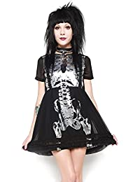 Iron Fist Wishbone Halo Dress - Black Medium