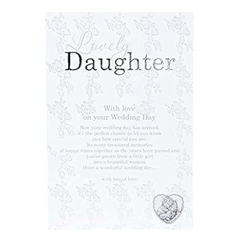 Me To You Blanc Lovey Tatty Teddy Wedding Collection 'Daughter'Scripted